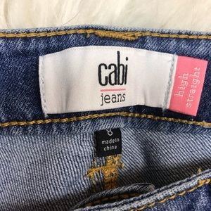 CAbi Jeans - CABI 5309 high waisted straight jeans